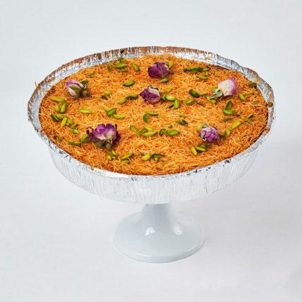 The Perfect Kunafa Cheesecake 8 Portion: Arabic Desserts