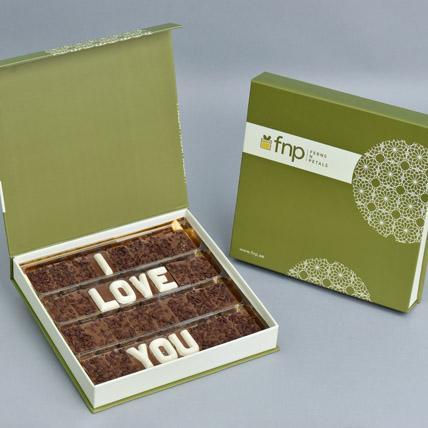 I Love You Chocolate: Chocolates For Anniversary
