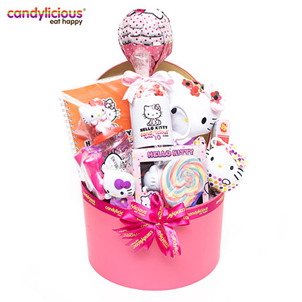 Candylicious Hello Kitty Extra Large Hamper: