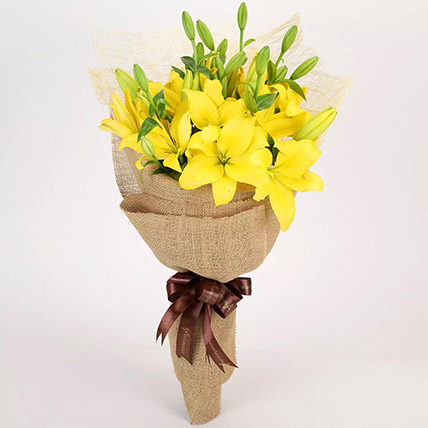 Lilies Pretty As You Are: Bouquet of Flowers