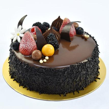 4 Portion Fudge Cake: