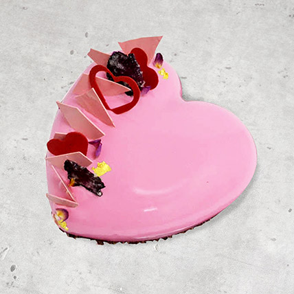 Valentine Love Cake: Kiss Day Gifts