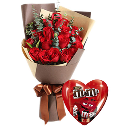 Valentines Roses Combo: Gifts to Davao