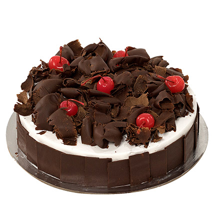 Delectable Black Forest Cake QT: Gift Delivery in Qatar