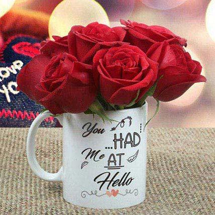 Rose Mug: Gifts To Al Qatif