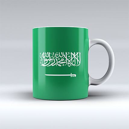 Designer Saudi Arabia Mug: Saudi National Day Gifts