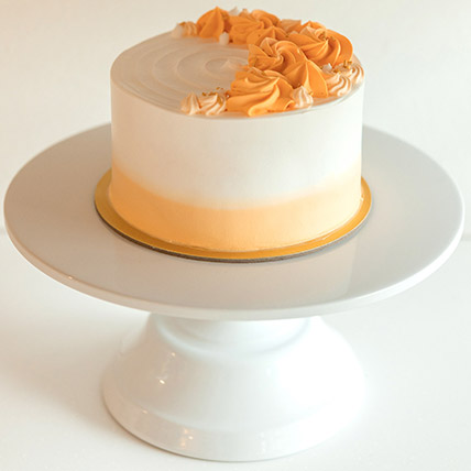 5in Round Carrot Hummingbird Cake: Gift Delivery Singapore