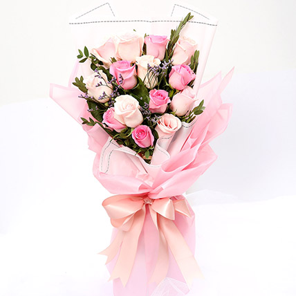 Dreamy Mixed Roses Bouquet SG: Flower Delivery Singapore