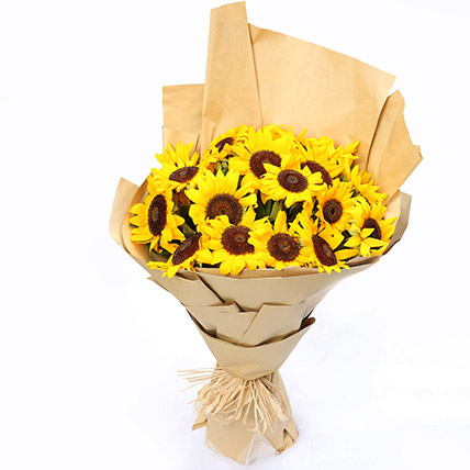 Sunny Hill 20 Sunflowers Bouquet SG: Send Gifts to Singapore