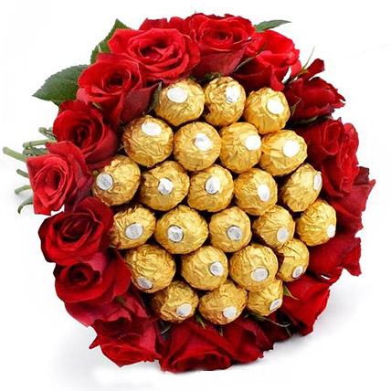 Big Bunch of Chocolates N Roses: Send Gifts To Sri Lanka