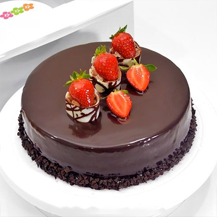 Choco Strawberry Delight: Send Gifts To Sri Lanka
