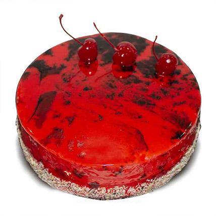 Red Chocolate Cake: Cake Delivery Sri Lanka