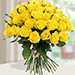 30 Yellow Roses Bouqet BH