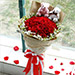 Lovely Red Roses and Teddy Bears