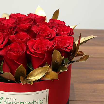 Box Of 20 Red Roses