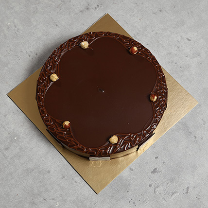 Hazelnut Chocolate Eggless Cake 2 Kg