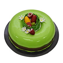 Easter gifts online easter gifts delivery ferns n petals easter pistachio chocolate cake easter gifts negle Choice Image