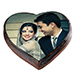 Romantic Photo Cake Eggless 1 Kg Vanilla Cake