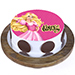 Princess Aurora Butterscotch Cake 1 Kg Eggless