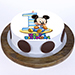 Bday Mickey Mouse Blackforest Cake 1 Kg