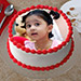 Creamy Photo Cake Eggless 1 Kg Butterscotch Cake