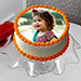 Delectable Photo Cake Eggless 2 Kg Vanilla Cake