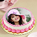 Heavenly Photo Cake Eggless 1 Kg Butterscotch Cake