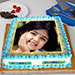 Radiant Photo Cake Eggless 2 Kg Pineapple Cake