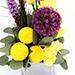 Bright Carnations and Laitris Floral Arrangement SG