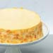 New York Cheese Cake With Almond Bits